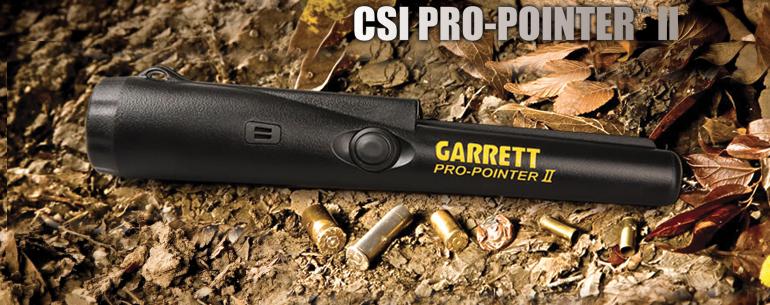Metal detector Garrett CSI ProPointer II
