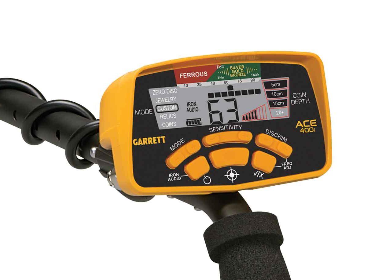 Metal Detector Ace 400i con accessori gratuiti
