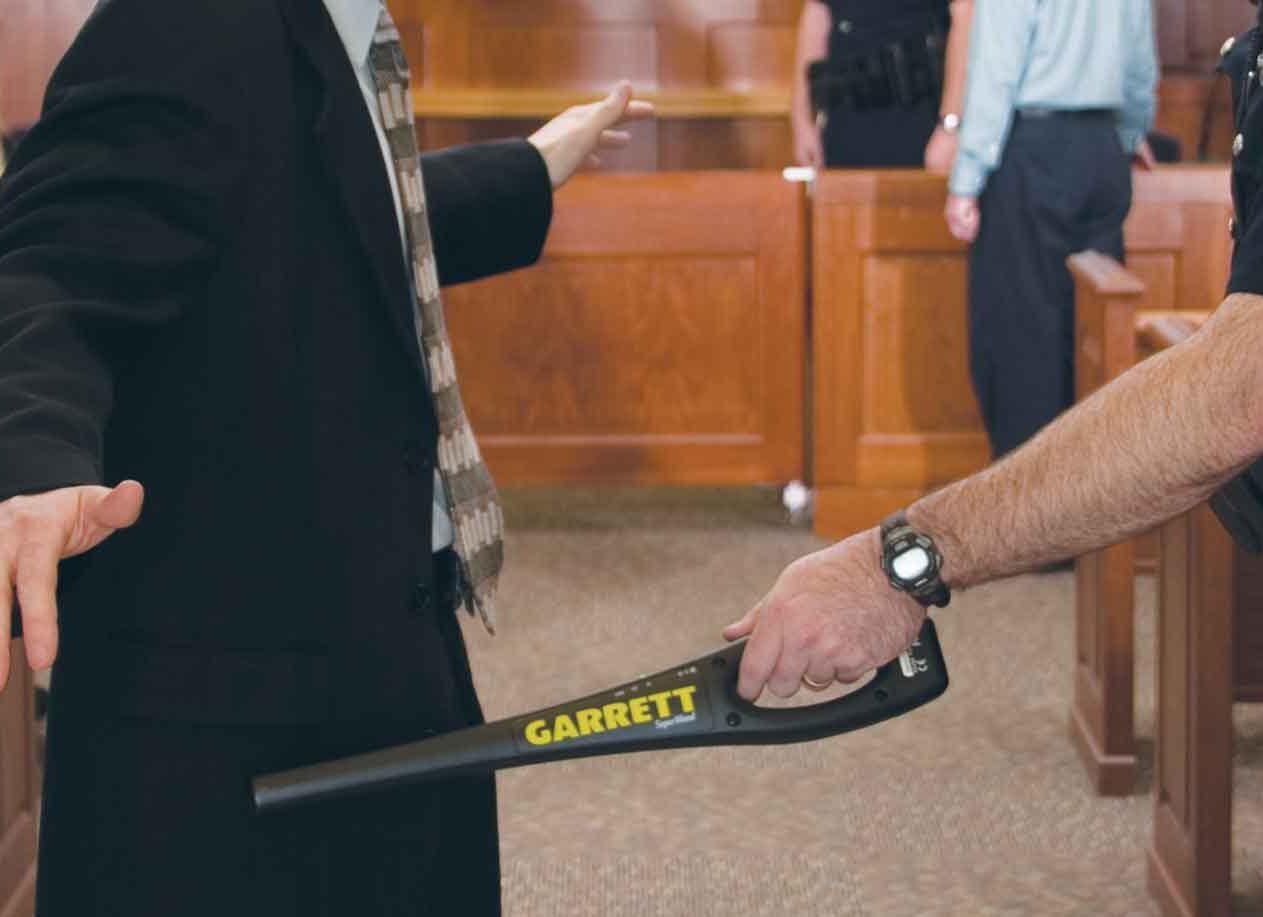 Super Wand Garrett per Metal detector