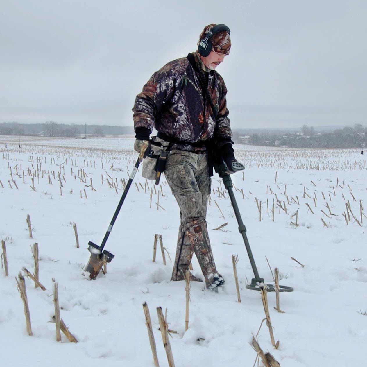 Metal Detector ATX Garrett per reicerche anche sotto la neve