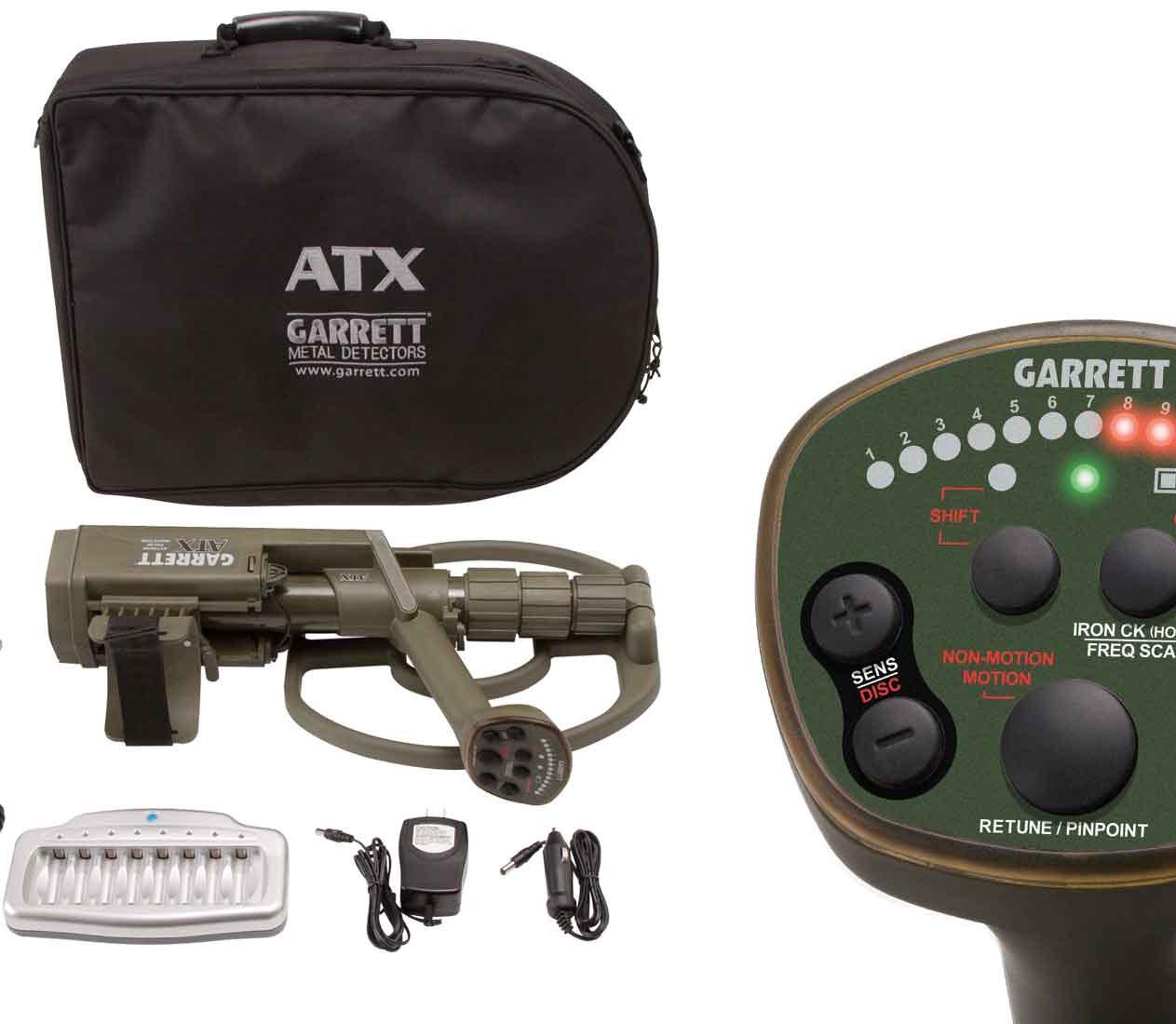 Metal DetectorATX Garrett regolabile con 25 settaggi