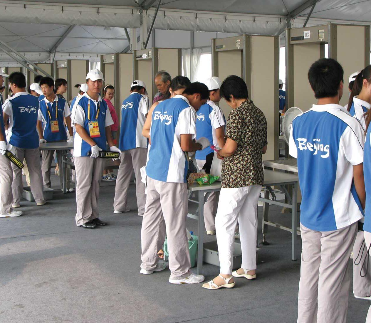 metal detector garrett per aeroporti, carcere, eventi